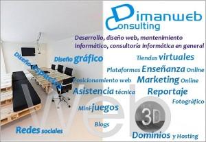 Dimanweb Consulting, Asesoramiento de Contenidos. 3D, tiendas virtuales