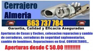 Cerrajeros Almeria 24 horas