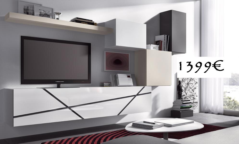 Conjunto de muebles para salon grupos empresas for Muebles baratos tarragona