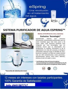 Sistema Purificador de Agua