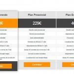 Oferta en paginas web economicas