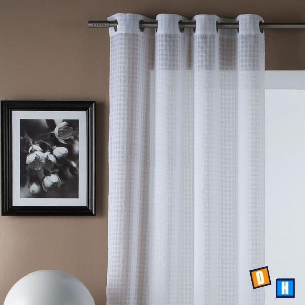 Nuevas cortinas lisas con visillo - Cortinas con visillo ...