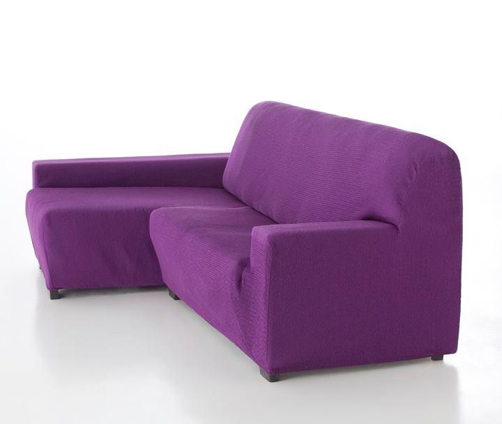 Fundas el sticas para sof s chaise longue con las mejores - Fundas para sofas con chaise longue ...