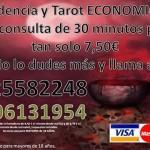 Videncia y Tarot  muy ECONOMICA, pago mediante Visa desde 4€