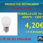 BOMBILLAS LED E-27