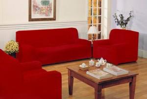 fundas elásticas TRIO para sofás barios colores
