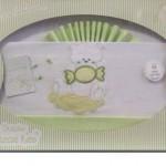 Nuevos juegos de sábanas 100% algodón para cuna de bebe