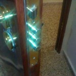 puertas de seguridad en madera