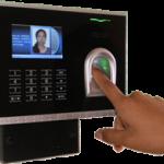 control accesos huella digital