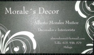 decoracion e interiorista, empresa malagueña MORALES DECOR