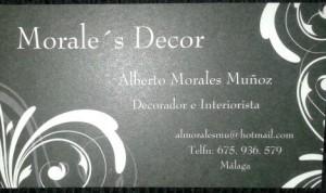 decoracion e interiorista, empresa malagueña MORALES DECOR