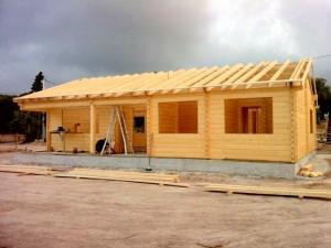 Montadores de casas de madera