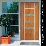 puerta inox aluminio