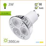 BOMBILLA LED GU10 220V 3W