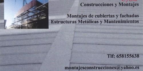 Cyma Construcciones y Montajes, Carpinteria de madera