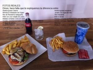 menu desde 7,50€ La Vaca Burguesa
