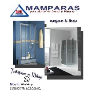Mamparas para baño y ducha en Malaga, mamparas serie pabaño