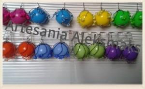 Artesania Aleksmaks, pendientes Artesania