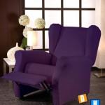 Fundas de sofá elásticas Relax con orejero