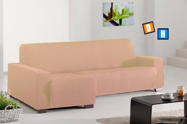 Fundas para sof s chaise longue - Fundas sofa madrid ...