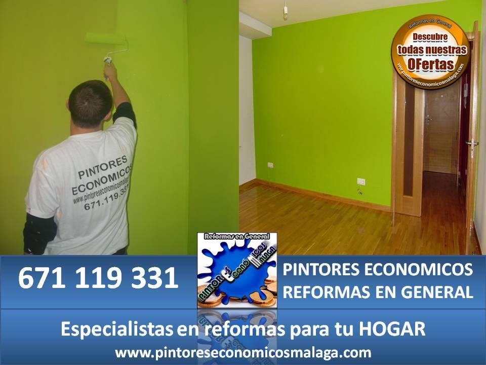 Pintores economicos reformas en general pintores economicos - Pintor economico barcelona ...