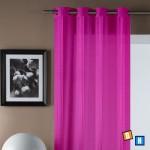 Nuevas cortinas lisas con visillo