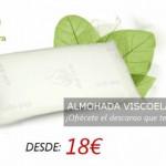 Almohada viscoelástica con tratamiento aloe vera