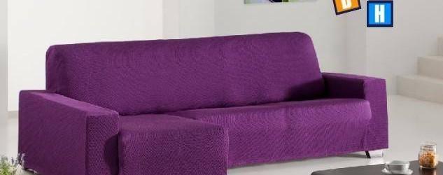 Fundas de sofás chaise longue, diferentes colores para elegir, tejido alta calidad