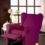 Fundas de sofá relax con orejero, adaptables y elásticas