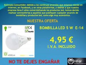 VENTA DE PRODUCTOS LED EN LA REGION MALAGUEÑA