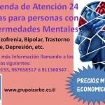 Vivienda de Atención 24 horas para personas con Efermedades Mentales Grupo Izarbe