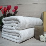 Toallas grandes de ducha 100% algodón