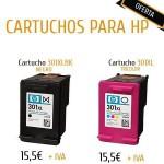 OFERTA CARTUCHOS PARA IMPRESORAS HP