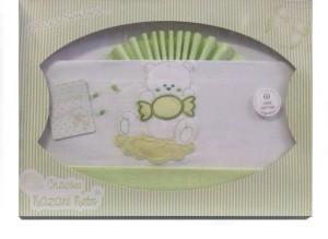 sábanas 100% algodón para cuna de bebe