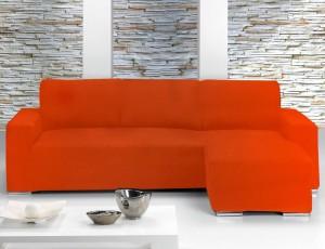 Fundas chaise longue elásticas para sofás