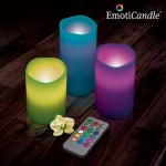 velas led emoticandle