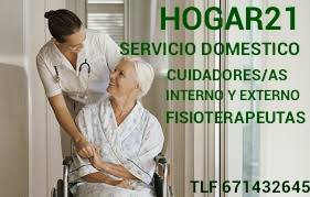 Hogar21, Fisioterapeutas